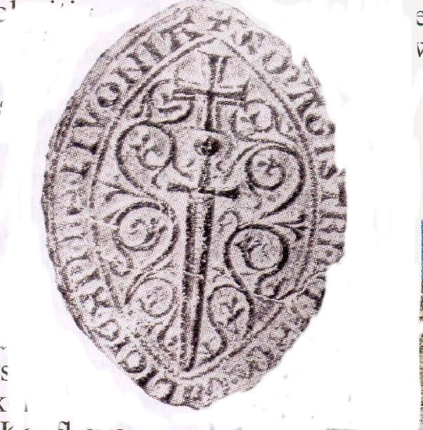 Картинки по запросу Печать архиепископа Ливонии