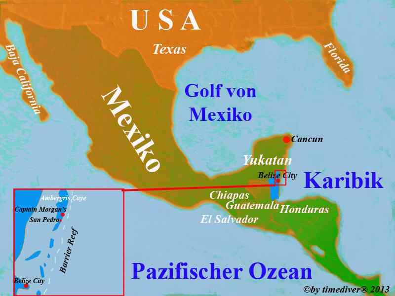 timediver® - Belize - Indexseite